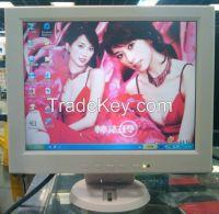 12 inch 4:3 touch screen monitor, touch screen monitor for pos.warrantry 1 year,