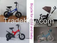 Child's Bicycle, Baby Walking Frames, Scooter, Tricycle( Pedicab, Trike),all kinds of toys