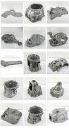 automobile aluminum parts