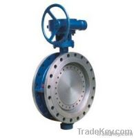 Flanged Triple Eccentric Metal Seal Butterfly Valve