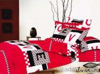 Brushed bedding sets