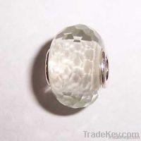 Silver Core Lampwork Glass Beads
