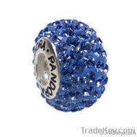 Silver Core Lampwork Beads