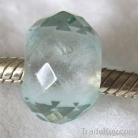 Sterling Silver Core Crystal Beads