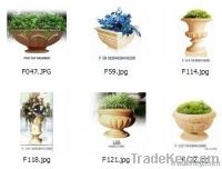 2013 HOT SALE Taper Flower pot(Sandstone)