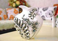 vase made in China ceramic craft 02346