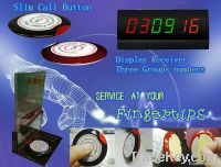 Service paging system for bar, nightclub, coffee shop and restaurant