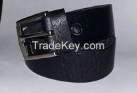 Genuine full natural buffalo leather belt