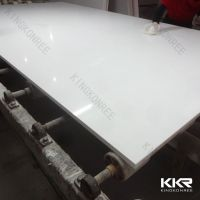 KKR engineered white quatz stone slabs