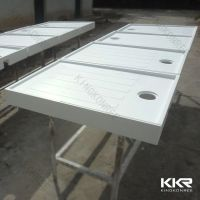 Artificial Stone Solid Surface Acrylic Shower Tray