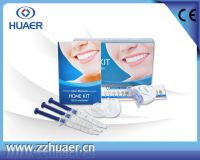 Safety CE approved teeth whitening home kit