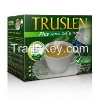 TRUSLEN Slimming Coffee, Green Tea, Cocoa