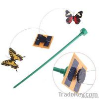 Solar Butterfly w/ Grounded Stick