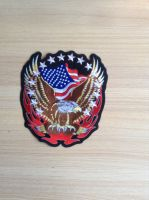 embroidered motorcycle patch
