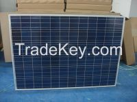 10W-300W poly and mono solar panel