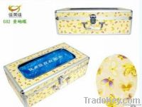Yellow Butterfly Aluminium Alloy Shoe Cover Machine