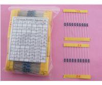 112ValuesX10pcs, 1/4W Metal Film Resistor Assorted Kit