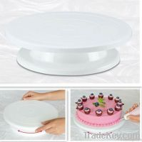 Professional cake decorating turntable