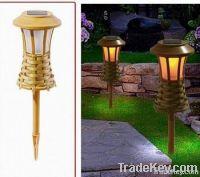 Solar Bamboo Light