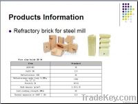 refractory brick for steel mill