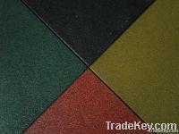 EPOS Rubber floor tiles - Golden Sand