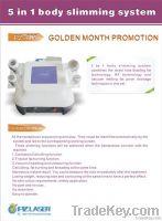 User manual of 5 in 1 cavitation slimming machine Brochure