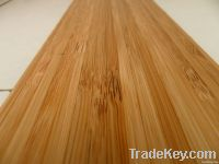 Vertical style carbonized bamboo flooring