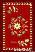 Red Nylon Printed Floor Mat