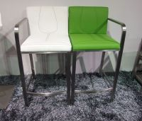 Brushed Stainless Steel Bar Stool