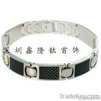 New  Black Carbon Fibre Bracelet