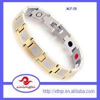 XLT-73   Wholesale pure titanium health therapy ion energy bracelet