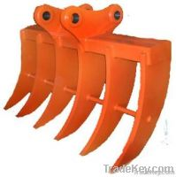 Excavator standard booms and arms, long reach booms and arms