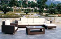 Poly rattan furniture