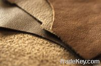 shoe leather/microfiber leather/lining leather