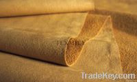 suede leather for shoe lining/shoe leather/microfiber lether