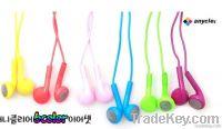 Stereo earphone headphone with MIC for iPhone/ipod