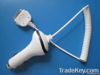 iPhone/iPod Car Charger with Extension Cable
