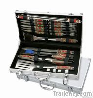 BBQ Pakka Handle Tool Set