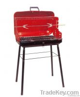 BBQ Grill in Red