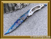 Wholesale 3 pcs./6 pcs. New Folding Handmade Knife & Free shipping