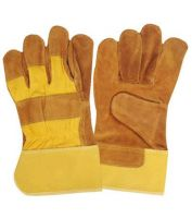 Leather working gloves, Welding gloves and Coverall