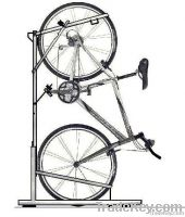 Vertical bike racks