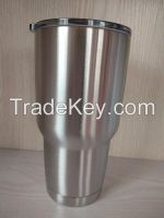 2016 Hot Sell silver YETI type Rambler Tumbler 30oz Travel Vehicle Bee