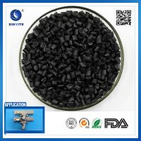 Recycled Black Injection PP material / Polypropylene granules /  plastic PP resin