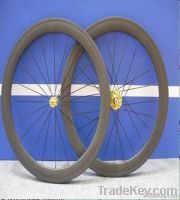 Superlight 700C 56mm Full Carbon Tubular Wheelset