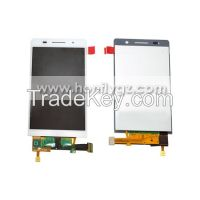 OEM LCD Screen with touch Screen for Huawei P6 black