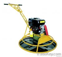 Gasoline and electric power trowel
