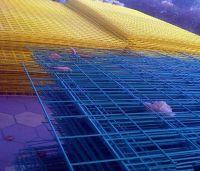 pvc welded metal netting
