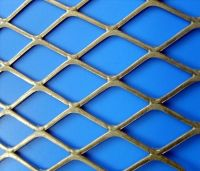 flatten expanded wire mesh
