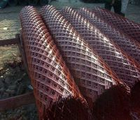 PE coated expanded wire mesh